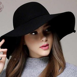 Accessories - Nicole Marciano wide  brim wool floppy hat